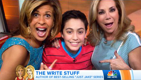 Jenna Bush and Hoda and KathyLee and Jake Marcionette on Today Show